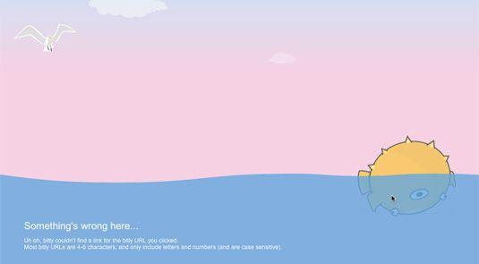 Bit.ly 404 error page
