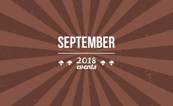 Depositphotos September Event Guide for the Rest of 2018