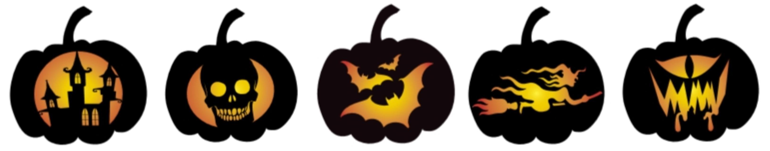25 free pumpkin carving stencils from depositphotos