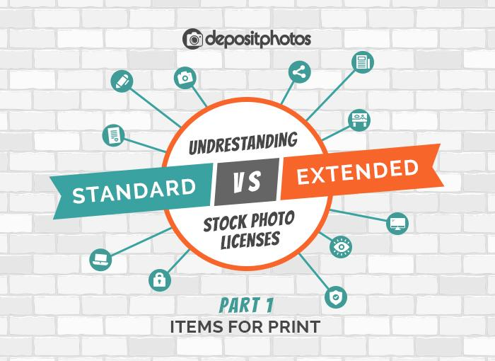 Ready use stock photos for print? Check your license rights [Infographic]