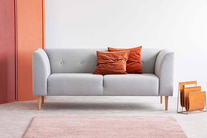 Pantone's Living Coral in interiors