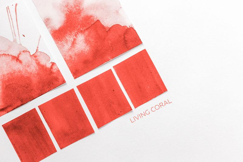 Pantone's Living Coral color palette