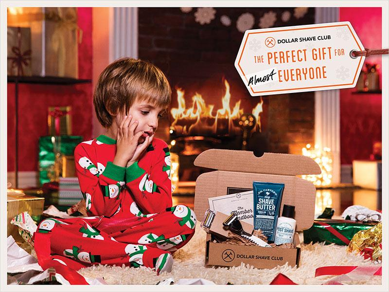 Dollar Shave Club   The perfect gift for almost everyone holiday campaign