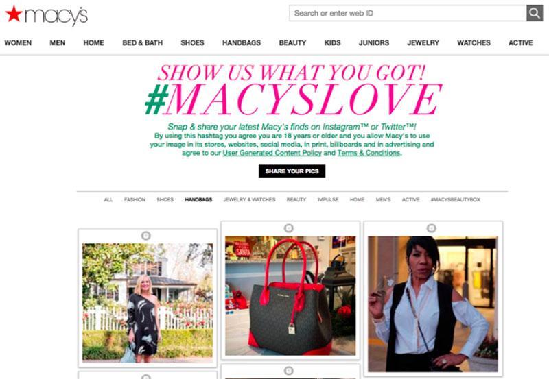 Macy's campaign #macyslove 2018