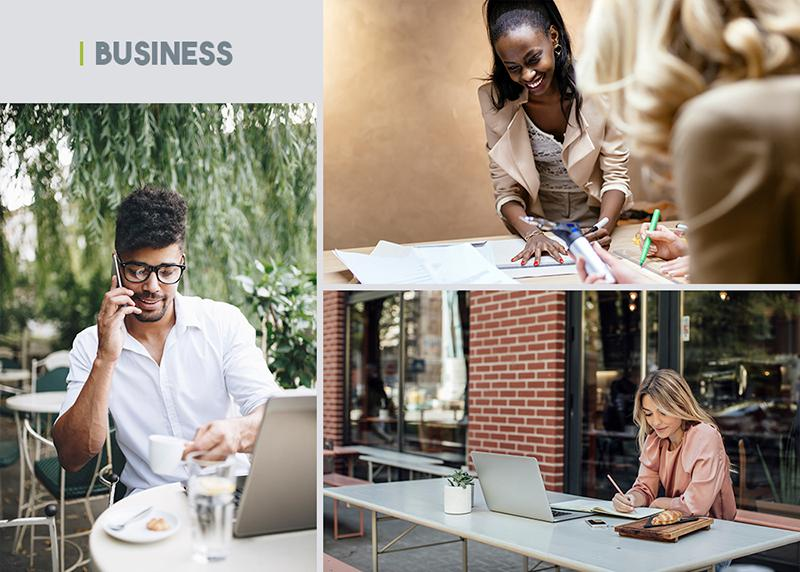 authentic stock photography   business