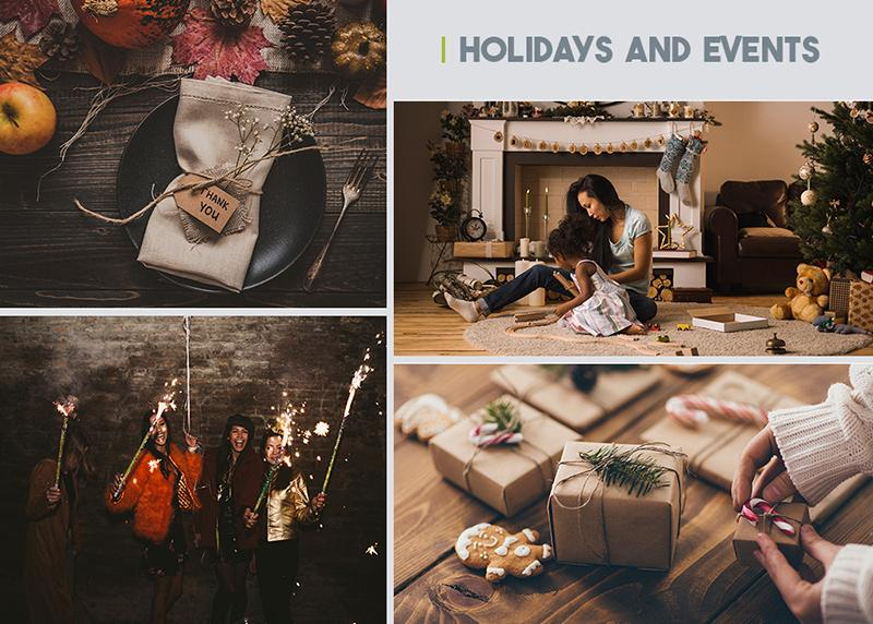 authentic stock photography   holidays and events