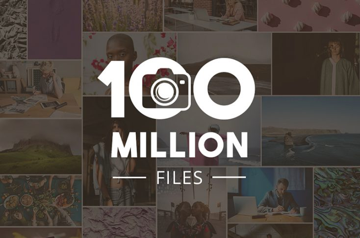 Celebrating 100 million files! Trendy photo collections and project ideas