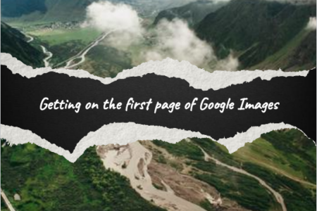 getting on the first page of google images copy