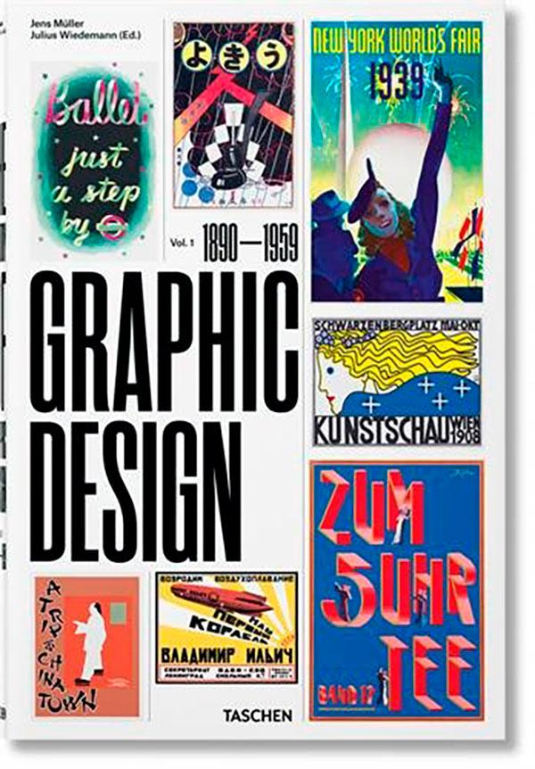 book The History of Graphic Design 01: 1890 1959 by Jens Müller, Julius Wiedemann