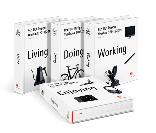 book Red Dot Design Yearbook 2018/2019: Living, Doing, Working & Enjoying by Peter Zec