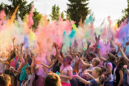 Holi Festival of Colors celebration