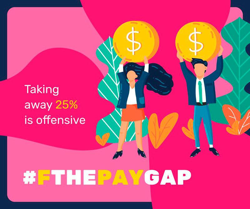 FThePayGap women empowerement campaign