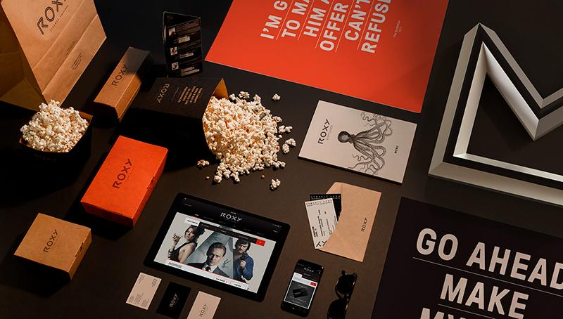Top 10 Creative Agencies on Behance — Branding Masters Creative Agency (Roxy Cinemas)