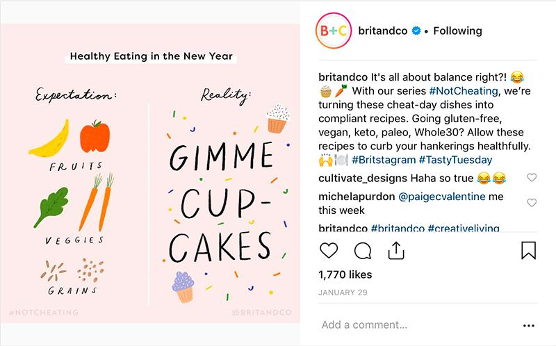 britandco instagram post