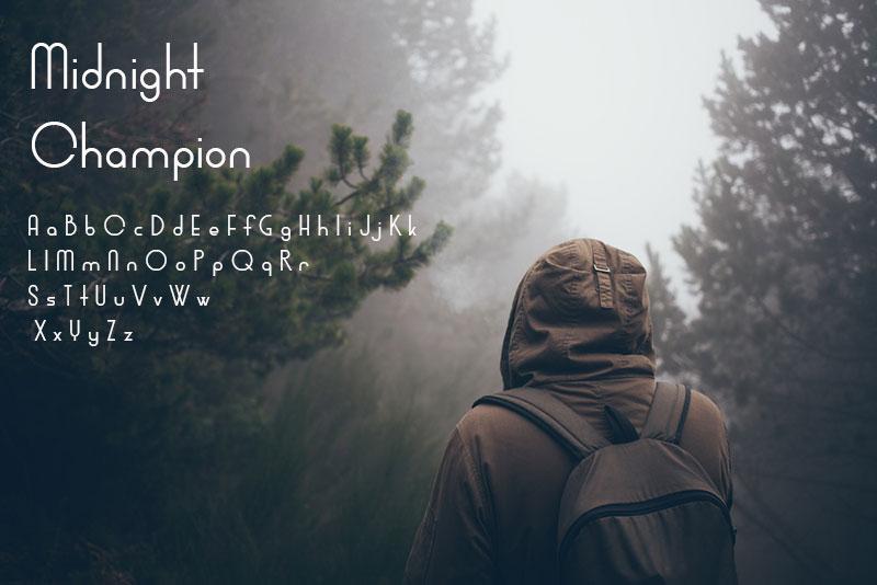 Free Minimalistic Fonts