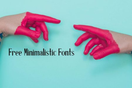 These Free Minimalistic Fonts Will Bring Sophistication to Your Designs