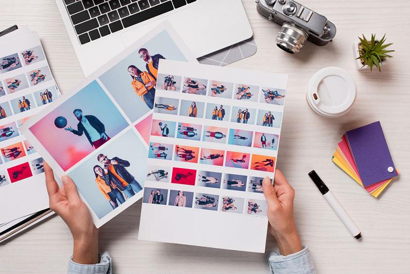 how to make a creatice portfolio tips and advice for designers and photographersstock photo workplace in fashion studio.html
