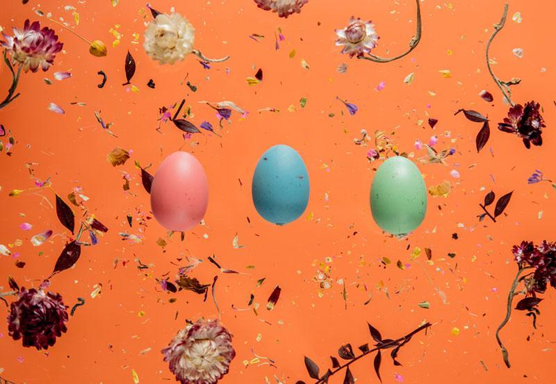 Minimalistic Easter Flatlay