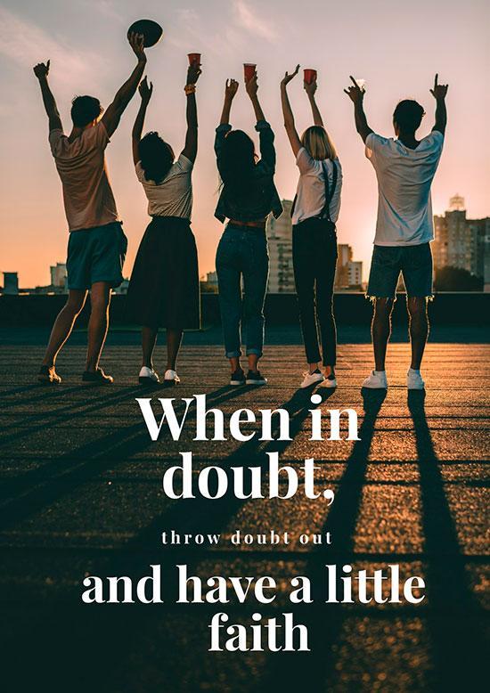 motivation on poster