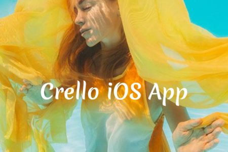 Crello's iOS app