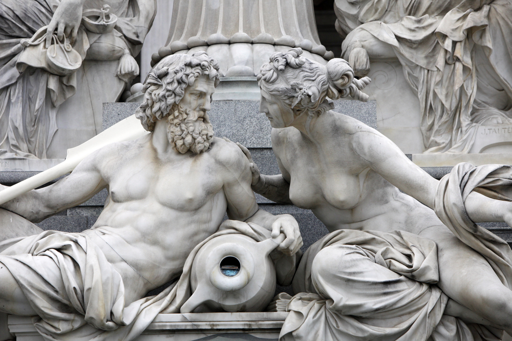 Sculptures in Vienna