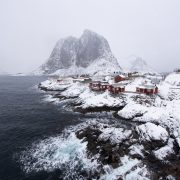 Fishermen cabins