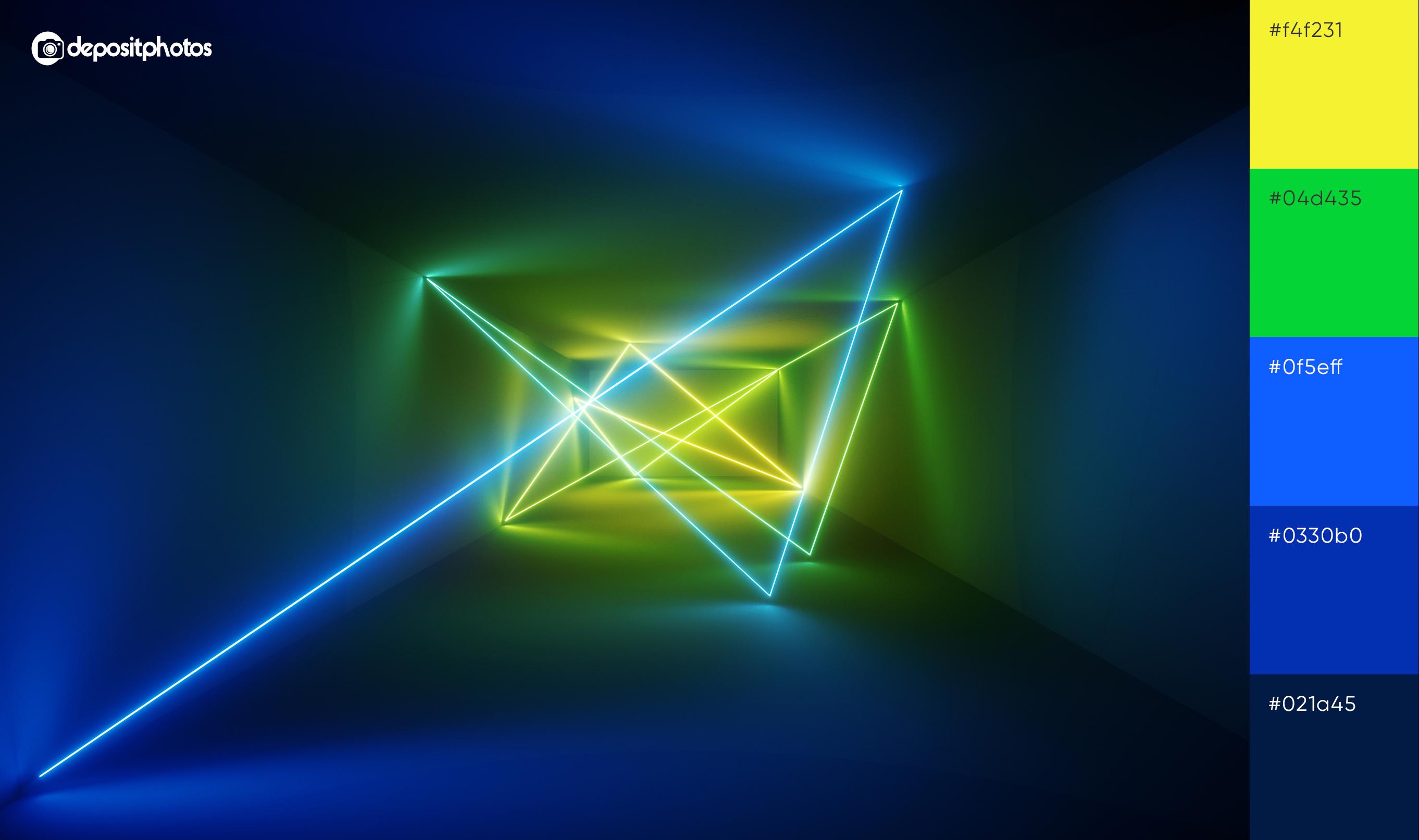 neon laser lights