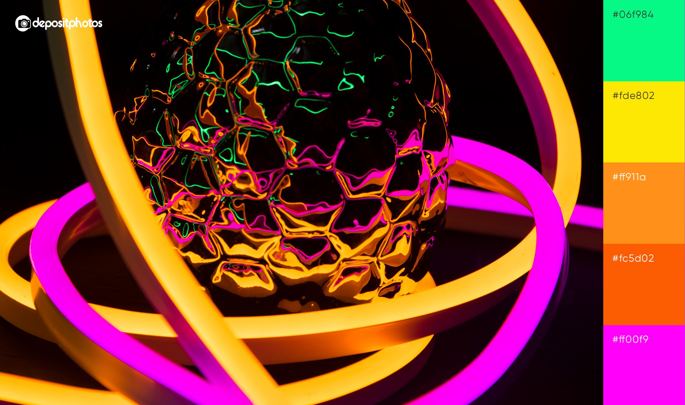 pinapple glowing