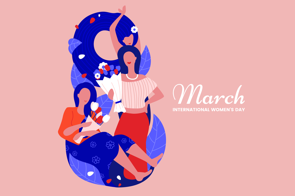 8 March illustration