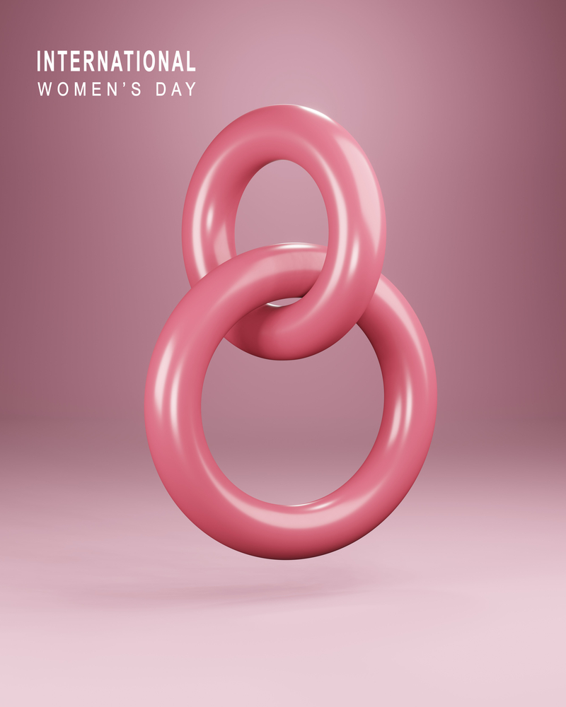 Happy International Women's Day background