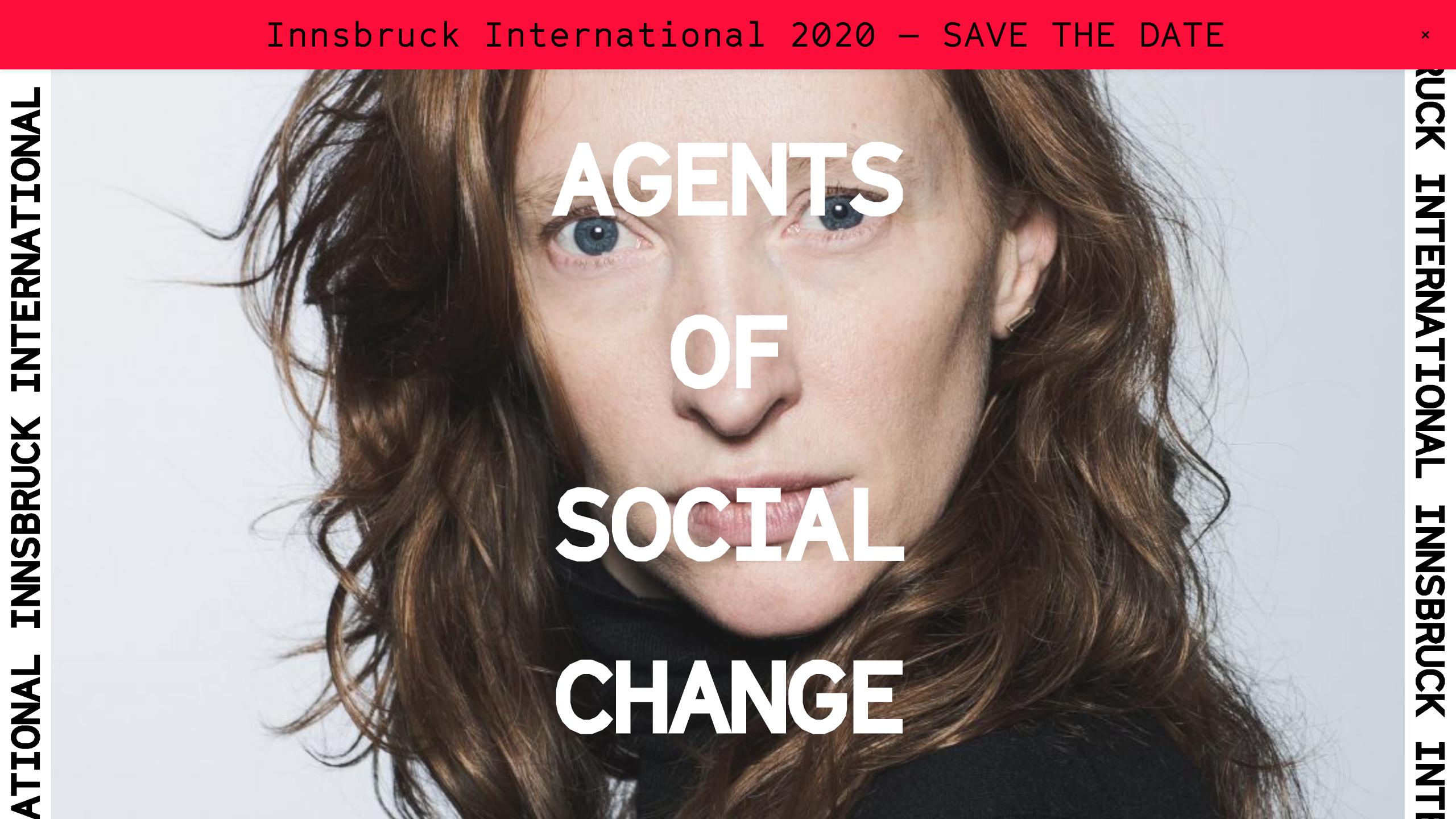 Innsbruck International website design