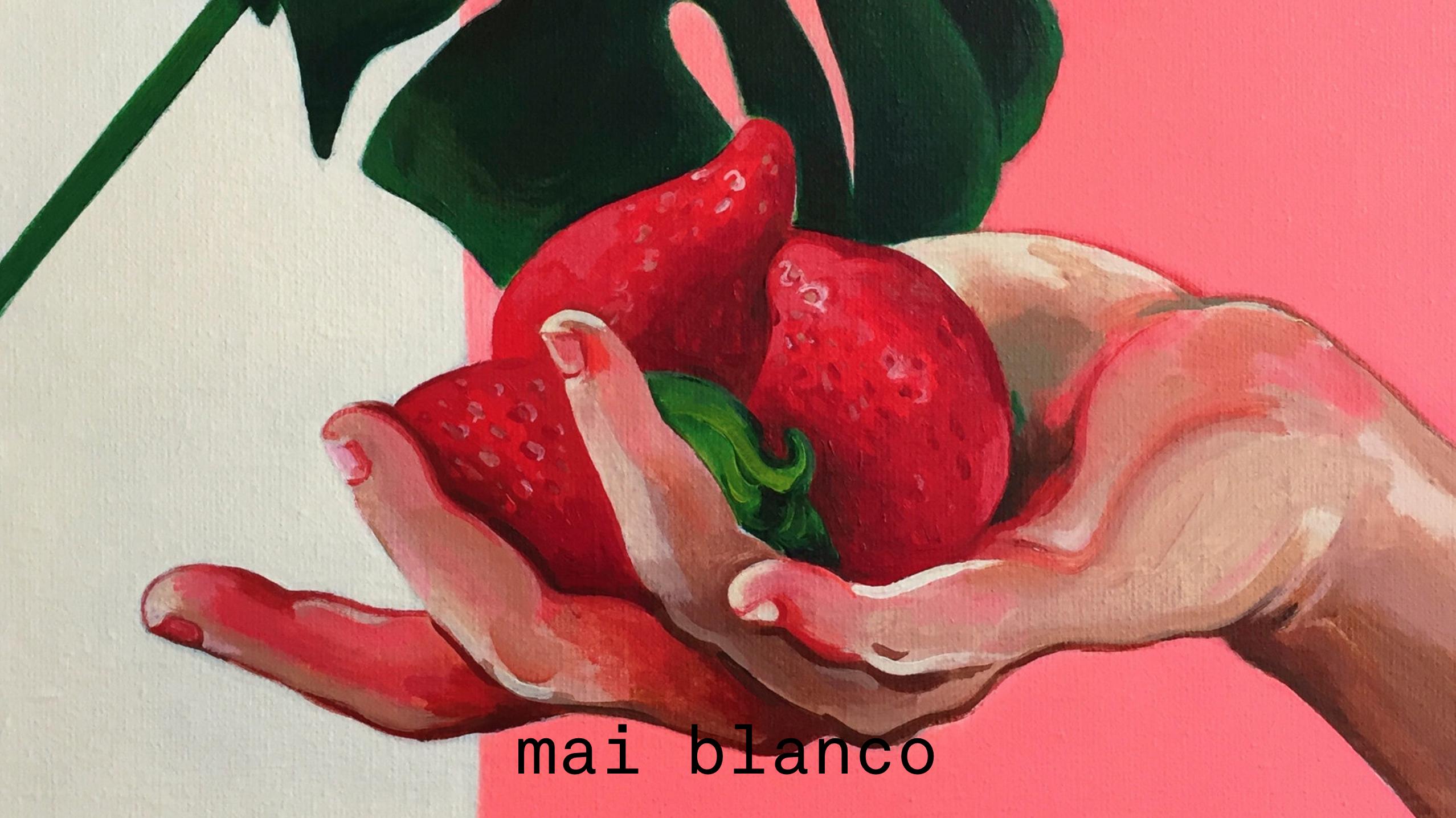 Mai Blanco website design