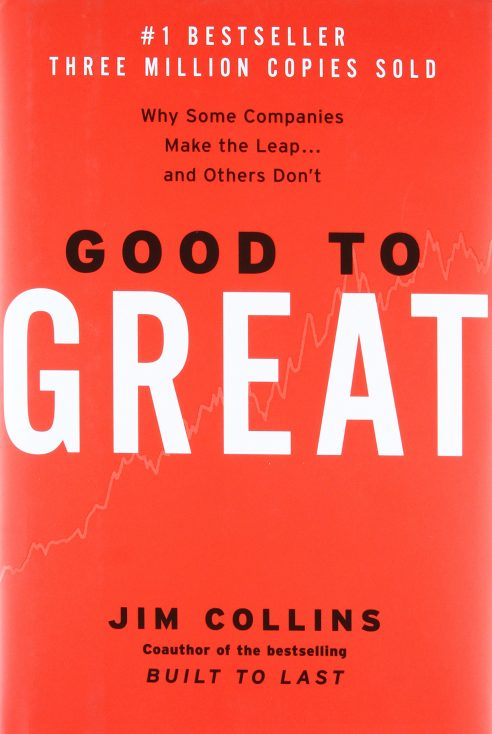 """Good to Great"" by Jim C. Collins"