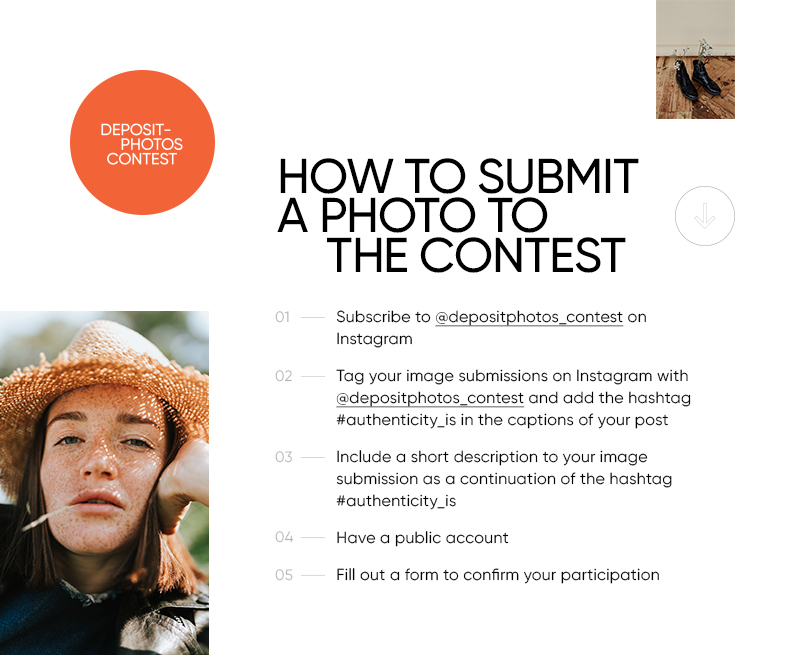 How to submit photos to the contest