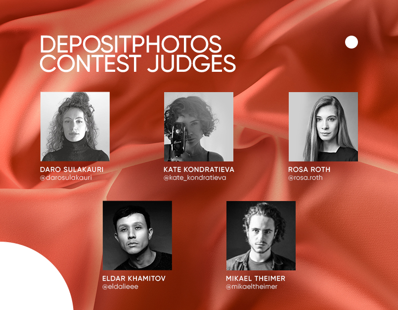 Judges of the Depositphotos contest