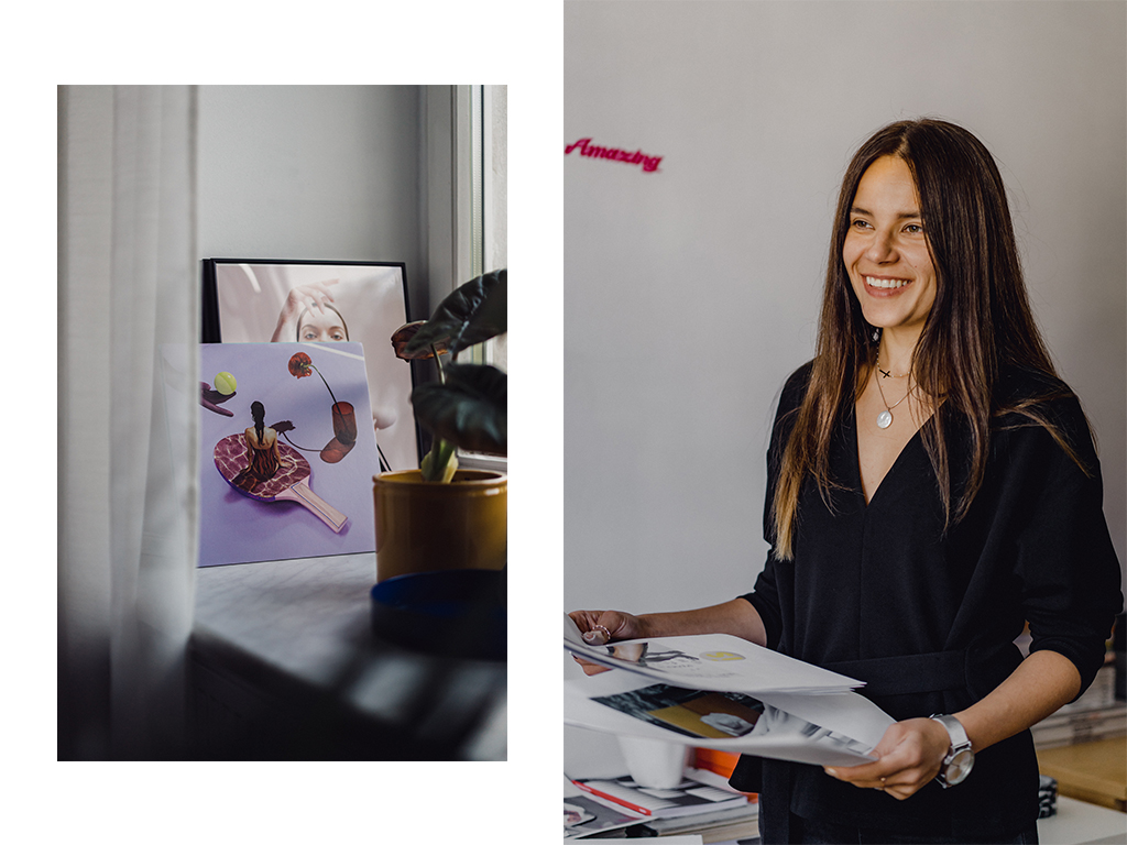 Beata Śliwińska on Design, the Art of Collage, and Her Work With Spotify and Adidas