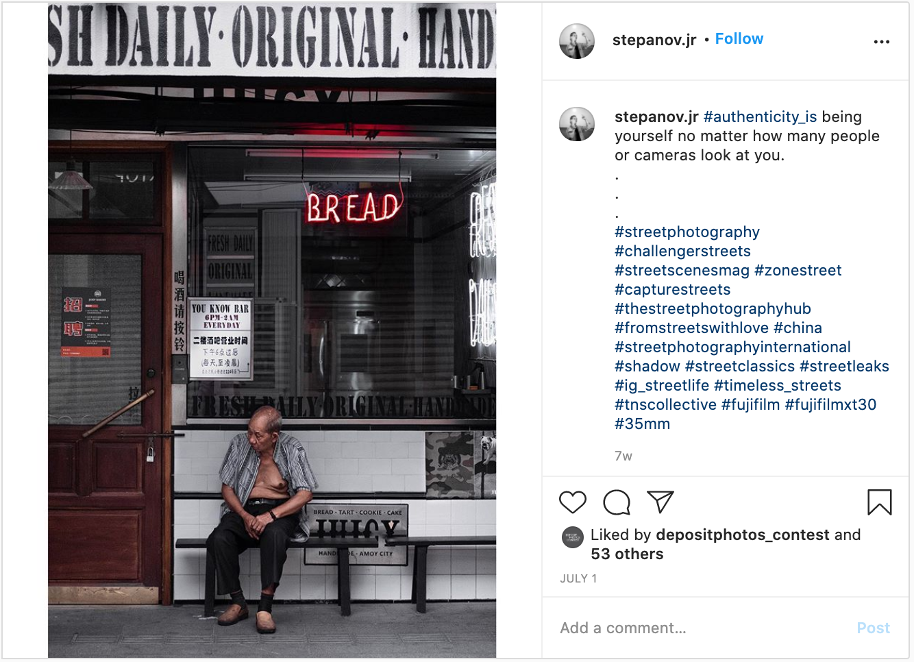 20 Photographers And Their Artistic Vision of Authenticity [ Week 3 And 4 ]