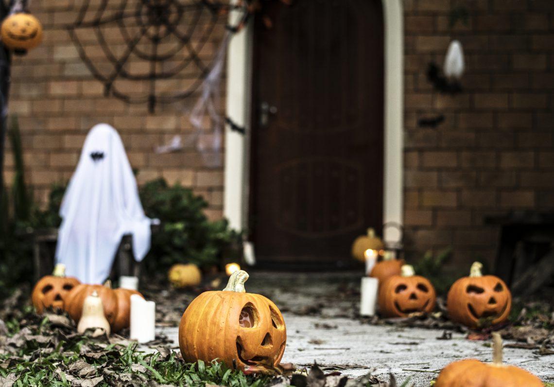 stock photo Halloween decor