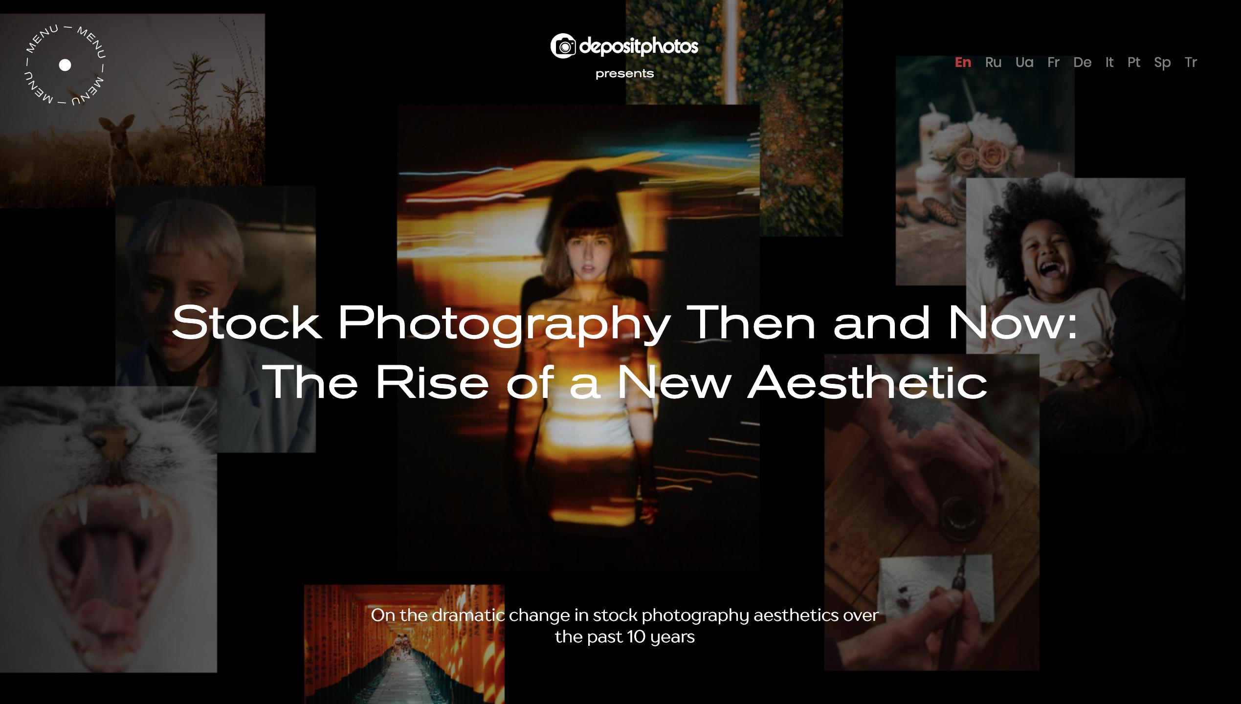 Stock Photography Then and Now