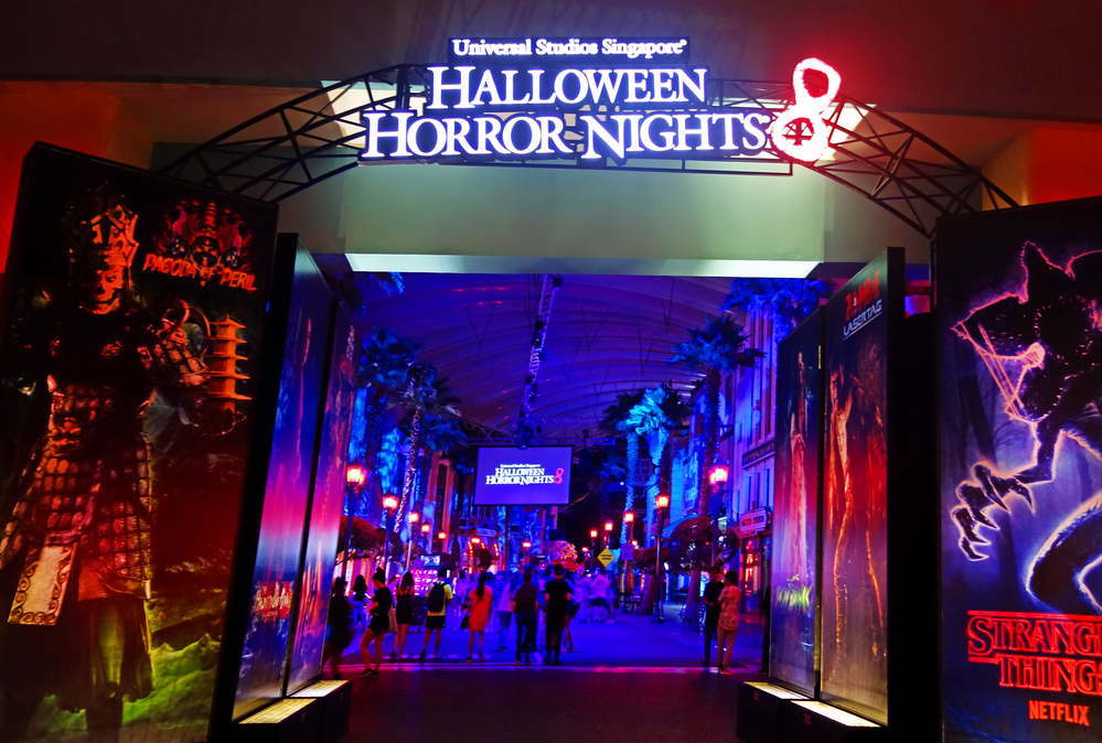 Stock photography Halloween Horror Nights by Universal Studios