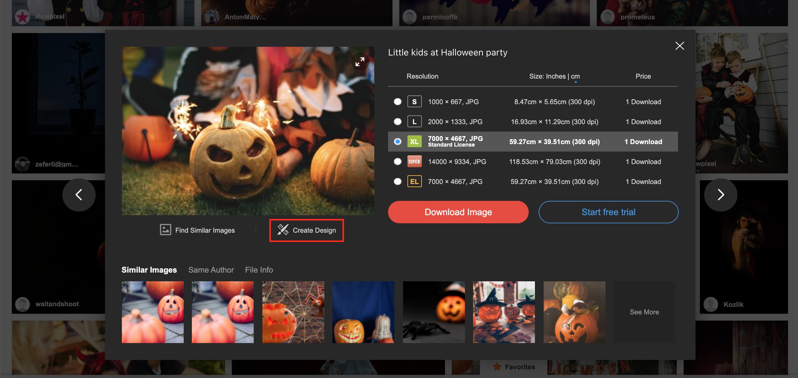 Discover free design templates on Depositphotos