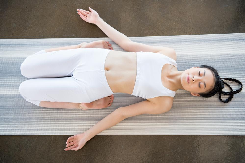 stock photo yoga