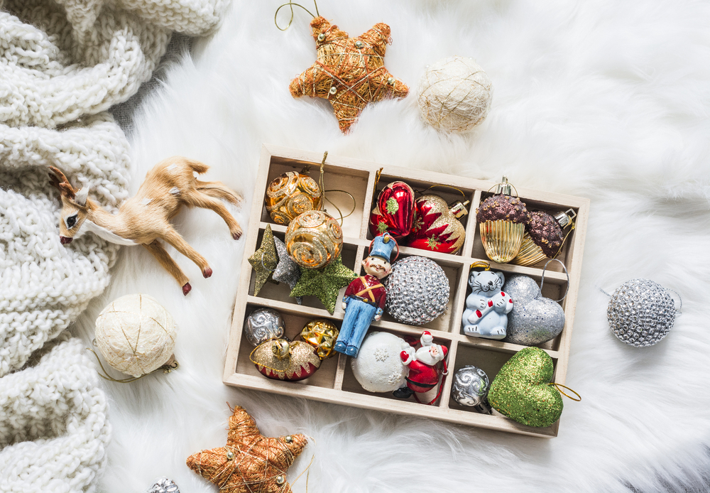 stock photo Christmas decorations