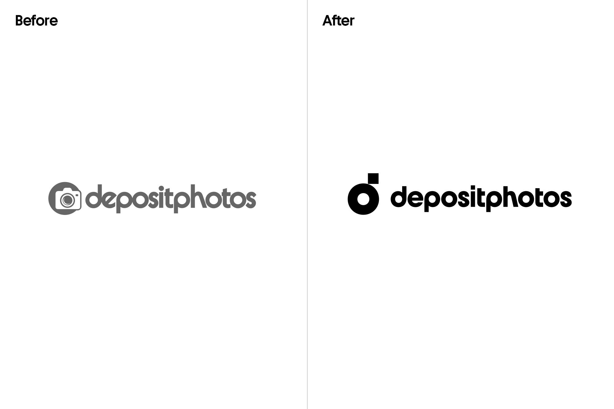 Depositphotos new logo rebranding crevv 2021