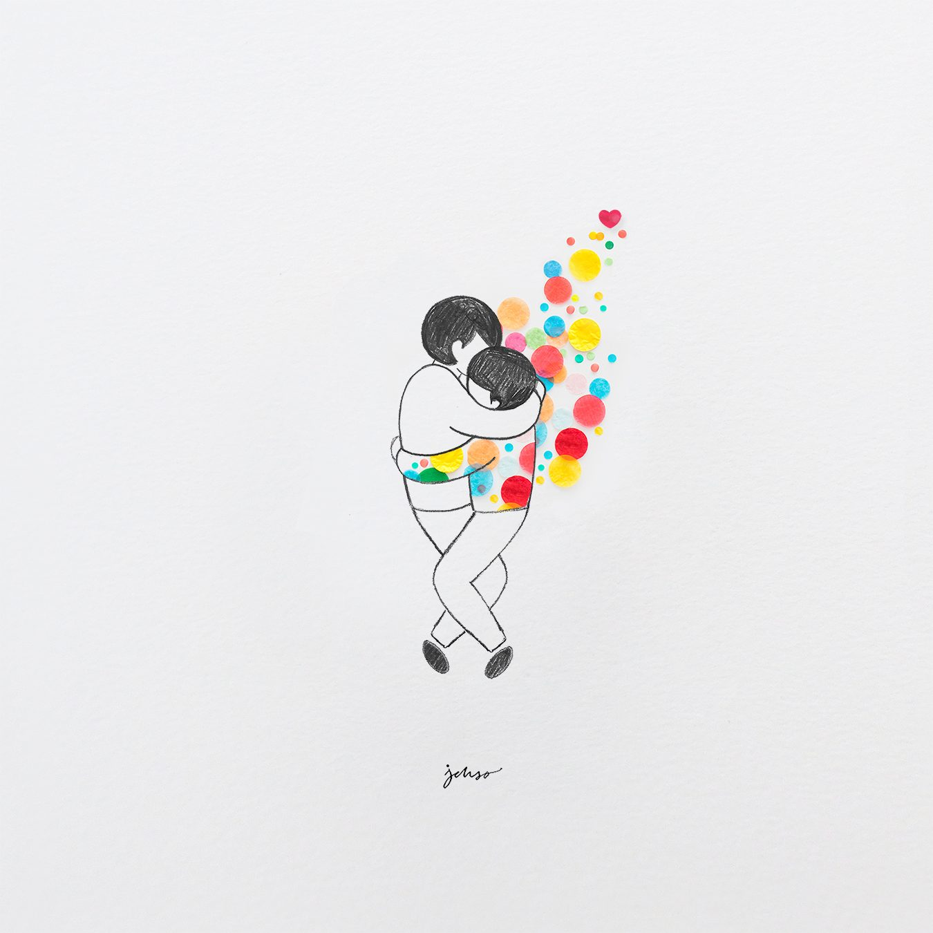 Jesus Ortiz-Valentine's Day concept