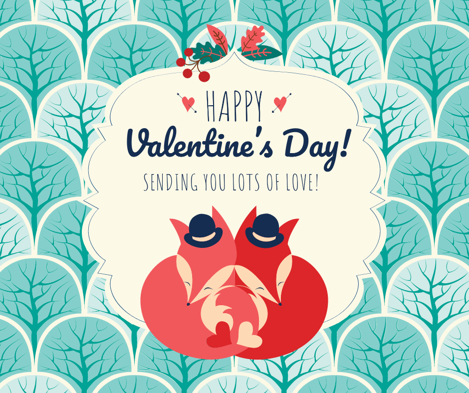 Valentine's Day ready-made templates Crello-1