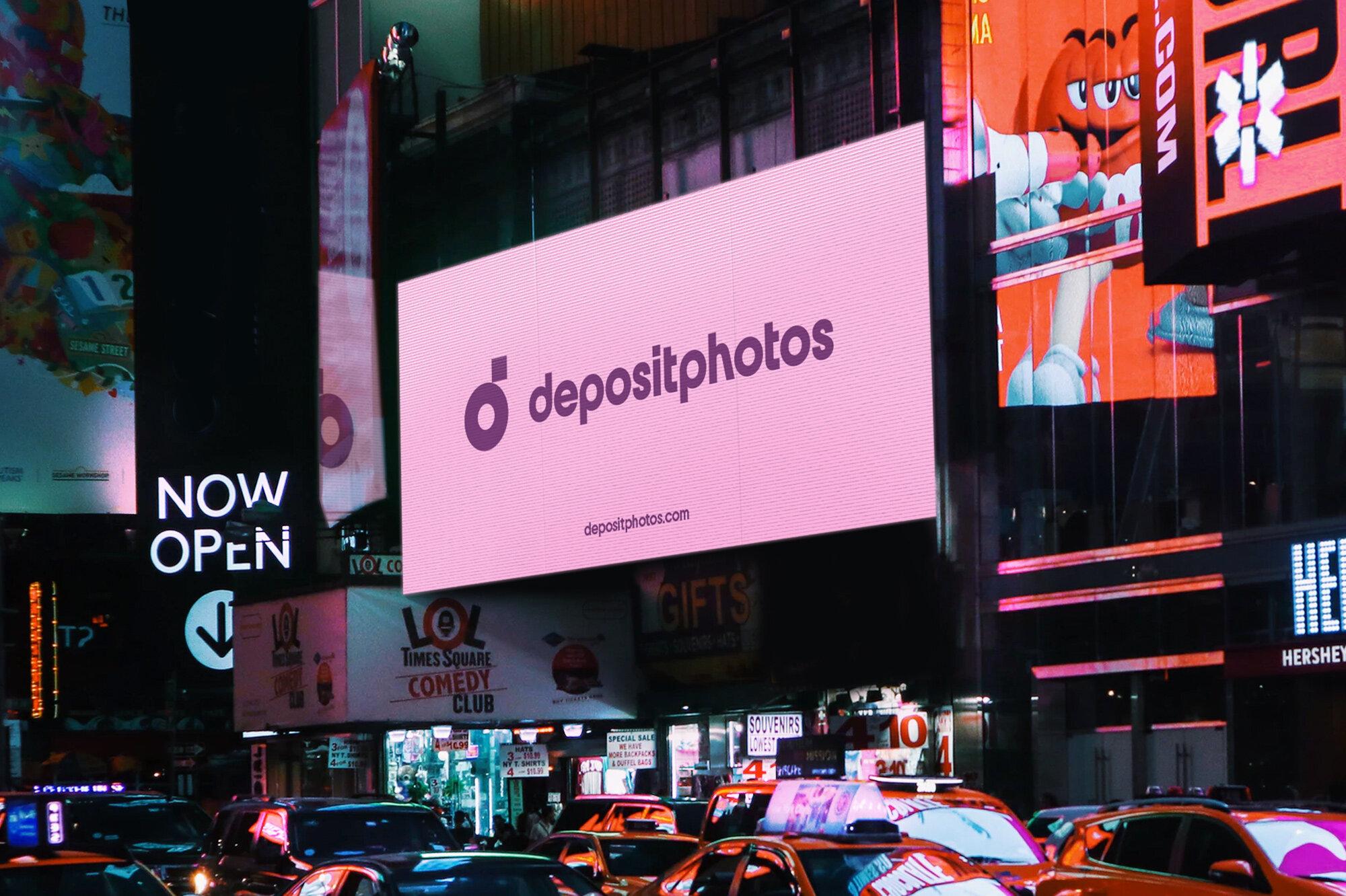 Depositphotos redesign new logo 2021