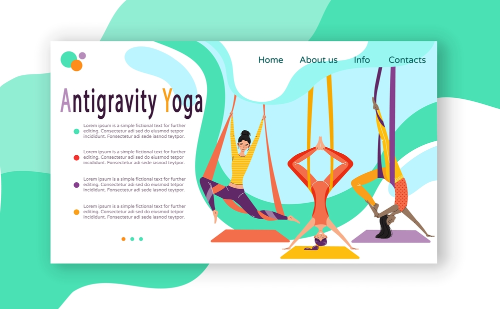 stock illustration web site design