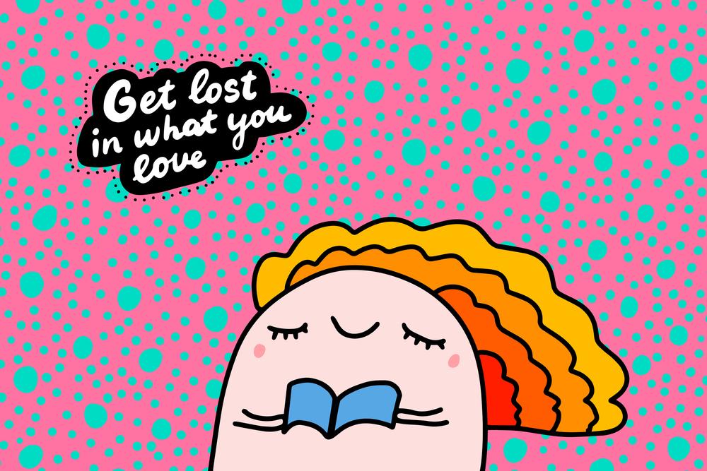 stock illustration motivation poster