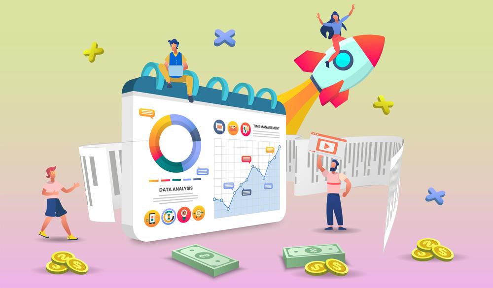 stock image 3D ecommerce retail marketing